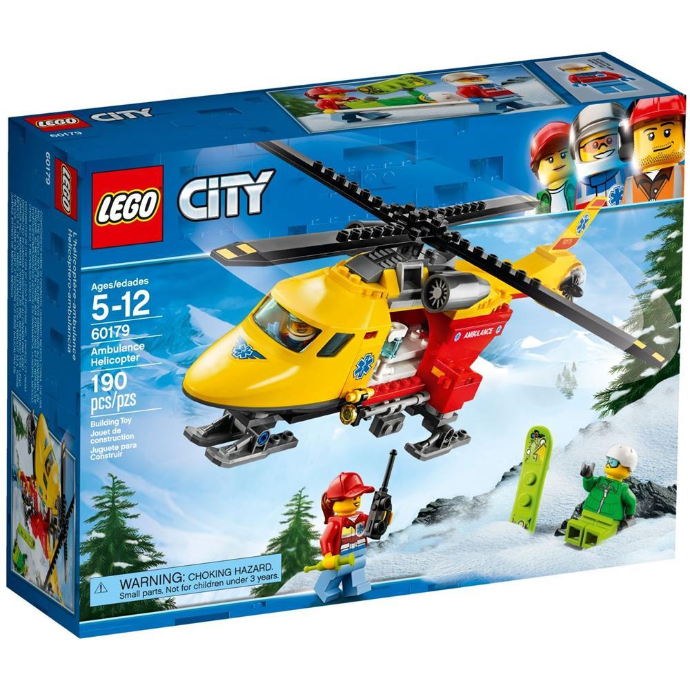 LEGO CITY ELI-AMBULANZA 60179<br />