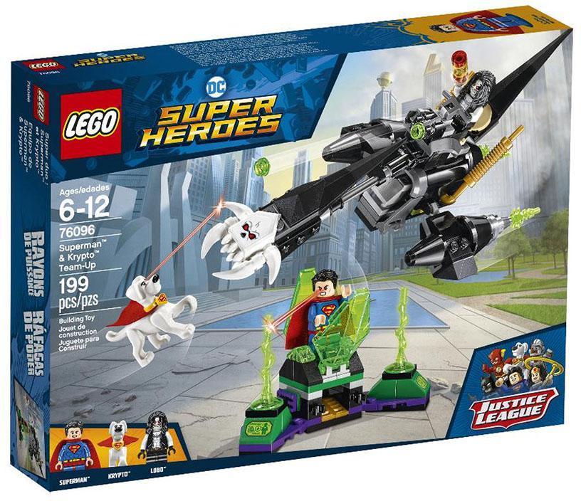 LEGO SUPER HEROES L'ALLEANZA TRA SUPERMAN E KRYPTO 76096<br />