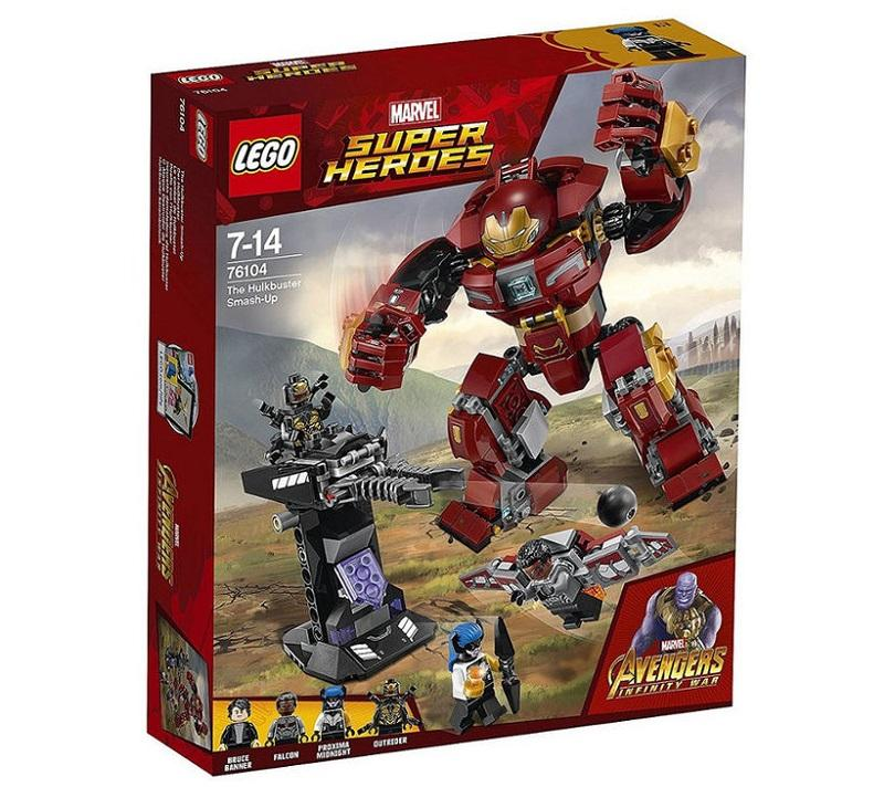 LEGO SUPER HEROES CONF AVENGERS GOOD GUY 76104<br />