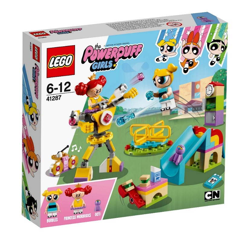 LEGO POWERPUFF GIRLS DUELLO AL PARCO GIOCHI DI DOLLY 41287