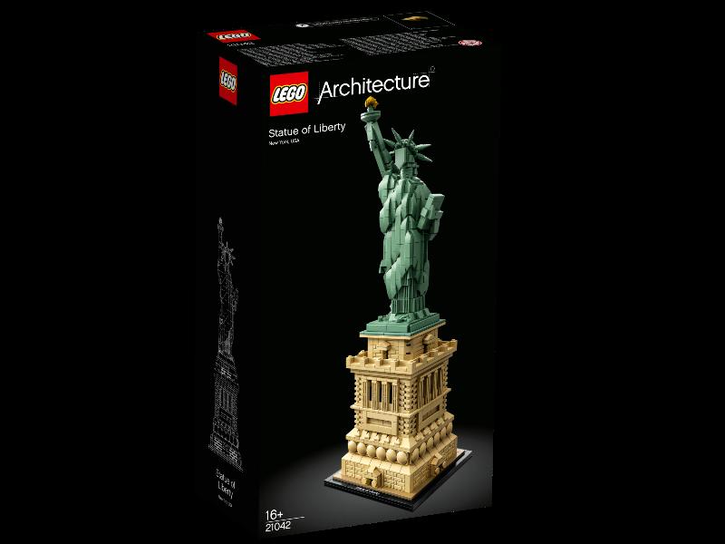 LEGO ARCHITECTURE STATUA DELLA LIBERTA' 21042