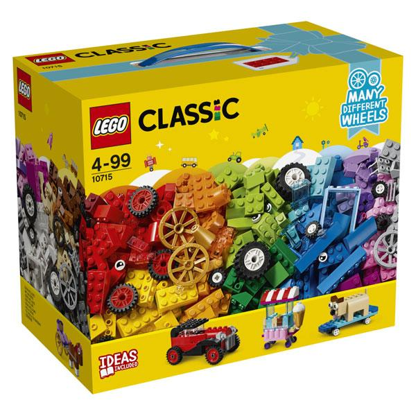 LEGO CLASSIC MATTONCINI SU RUOTE 10715<br />