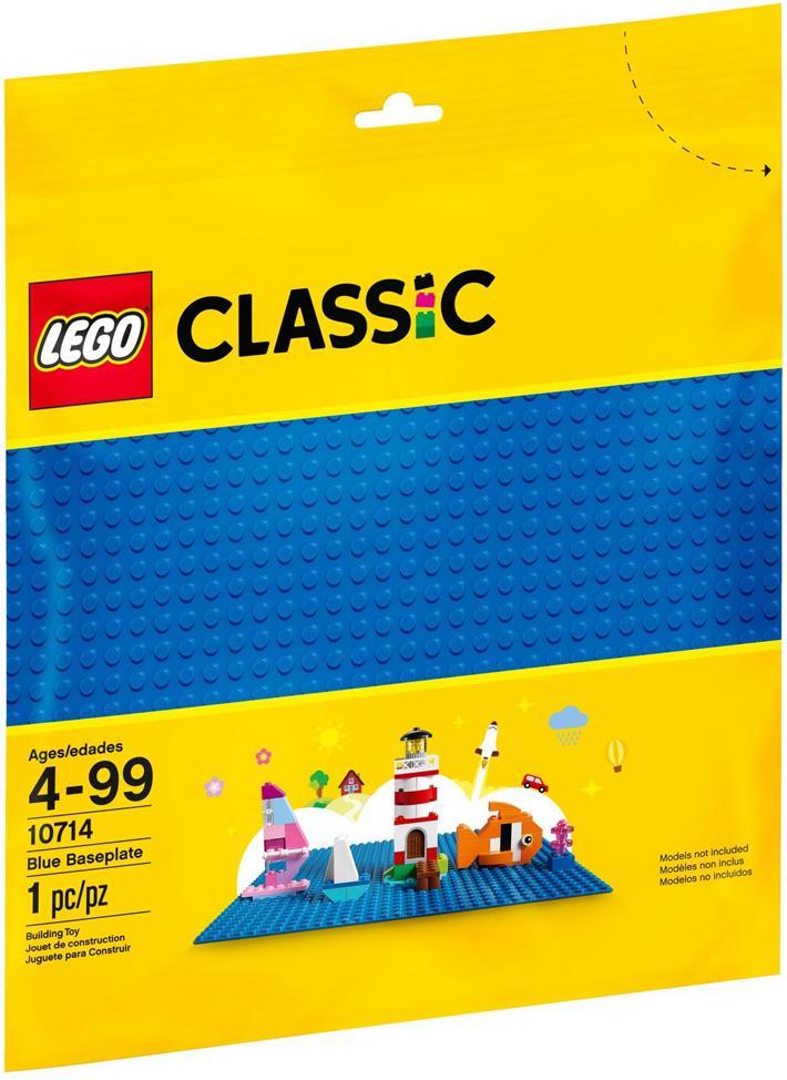 LEGO CLASSIC BASE BLU 10714<br />