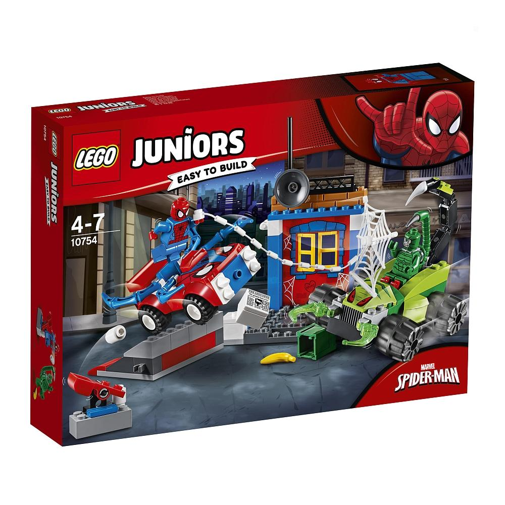 LEGO JUNIORS SPIDER-MAN CONTRO SCORPIONE: RESA DEI CONTI FINALE 10754<br />