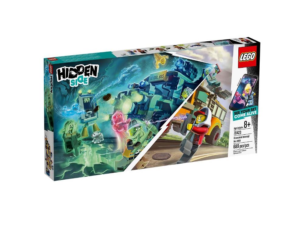 LEGO HIDDEN SIDE AUTOBUS DI INTERCETTAZIONE PARANORMALE 3000 70423
