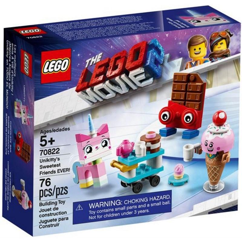 LEGO MOVIE GLI AMICI DI UNKITTY PIU' DOLCI DI SEMPRE! 70822
