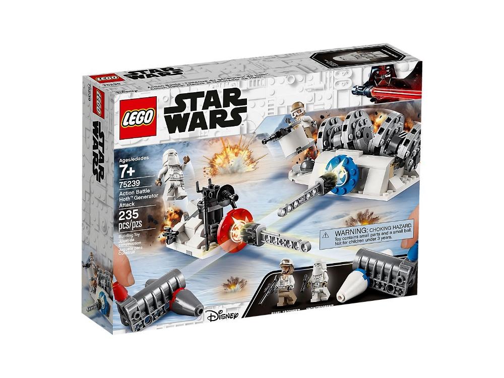 LEGO STAR WARS ACTION BATTLE - ASSALTO AL GENERATORE DI HOTH 75239