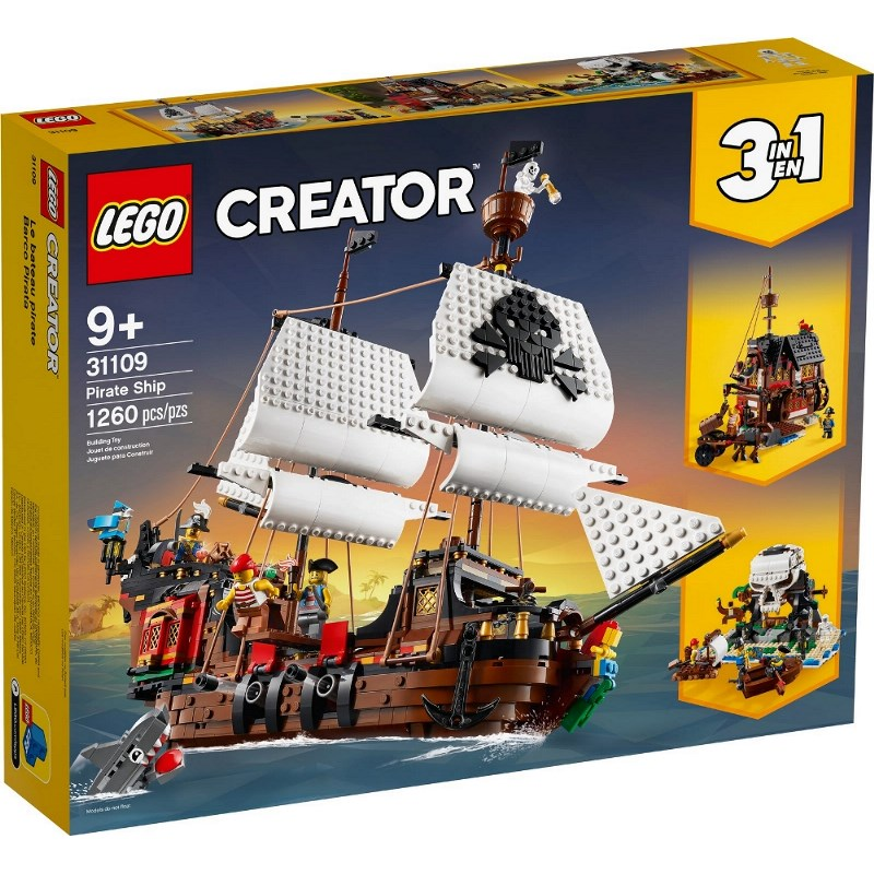 LEGO CREATOR GALEONE DEI PIRATI 31109
