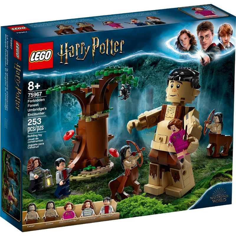 LEGO HARRY POTTER LA FORESTA PROIBITA: L'INCONTRO CON LA UMBRIDGE 75967