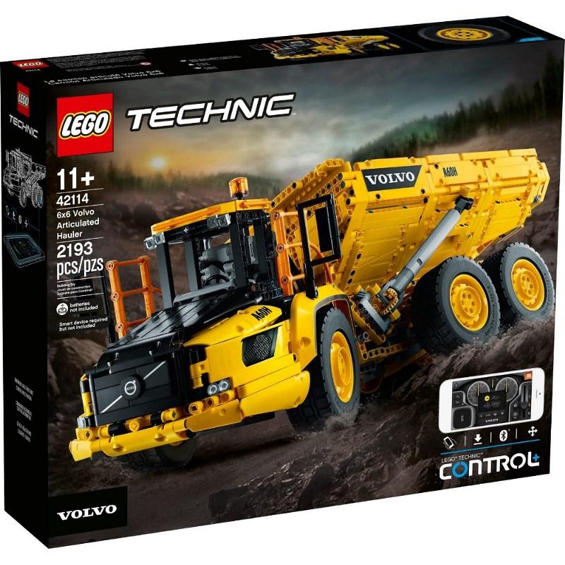 LEGO TECHNIC 6X6 VOLVO - CAMION ARTICOLATO 42114