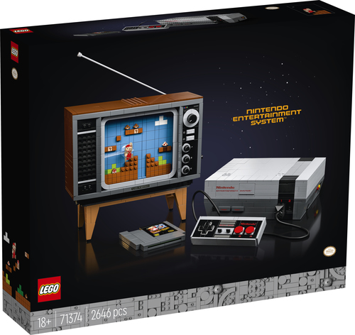 LEGO SUPER MARIO NINTENDO ENTERTAINMENT SYSTEM 71374