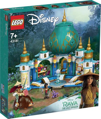 LEGO DISNEY PRINCESS RAYA E IL PALAZZO DEL CUORE 43181