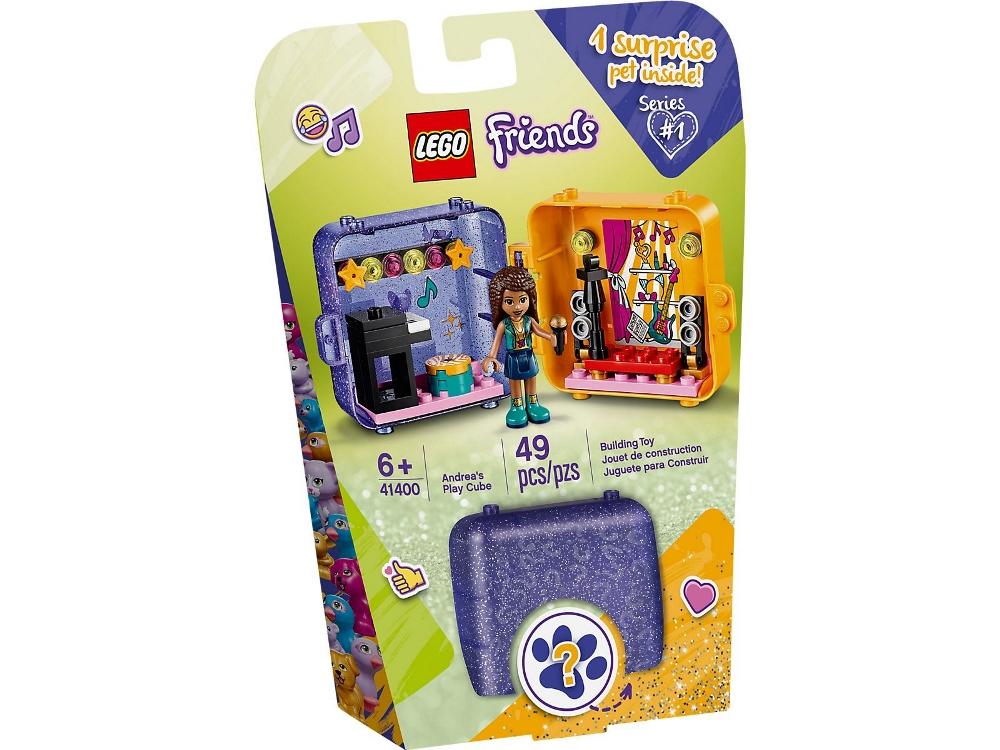 LEGO FRIENDS IL CUBO DELL'AMICIZIA DI ANDREA 41400