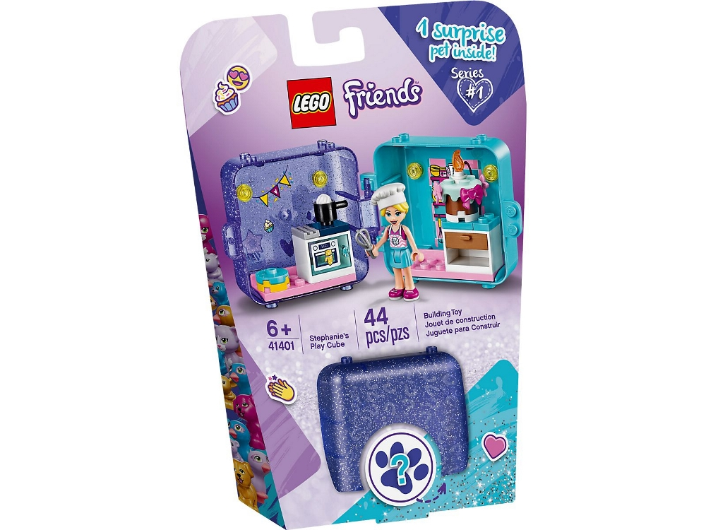 LEGO FRIENDS IL CUBO DELL'AMICIZIA DI STEPHANIE 41401