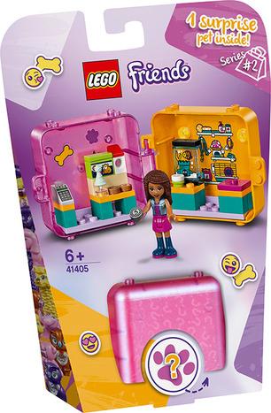 LEGO FRIENDS IL CUBO DELLO SHOPPING DI ANDREA 41405