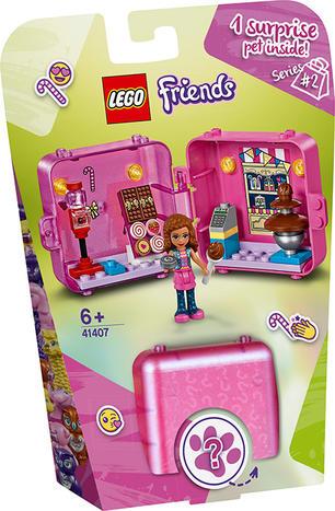 LEGO FRIENDS IL CUBO DELLO SHOPPING DI OLIVIA 41407