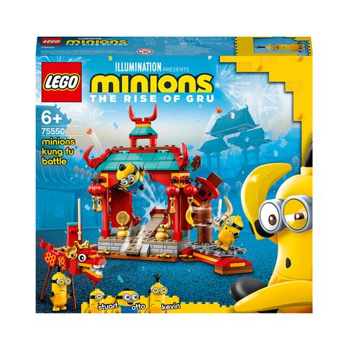 LEGO MINIONS LA BATTAGLIA KUNG FU DEI MINIONS 75550