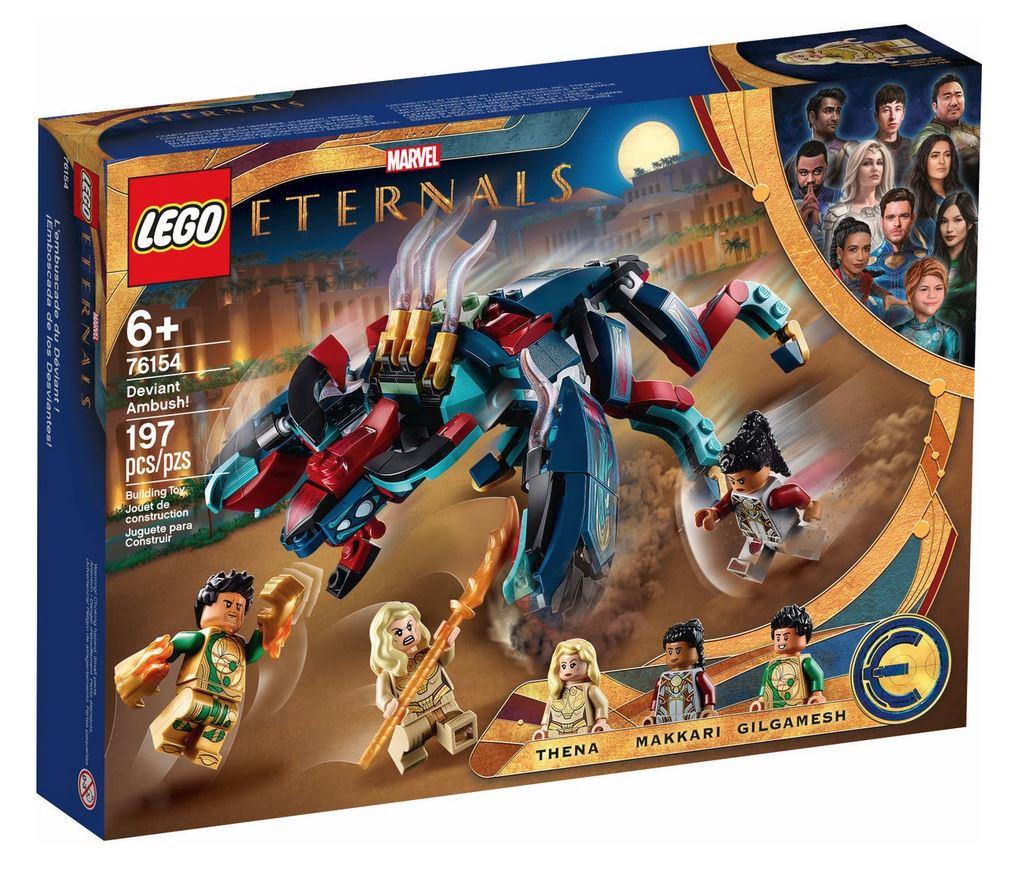 LEGO SUPER HEROES LEGO MARVEL: L'IMBOSCATA DEL DEVIANT 76154