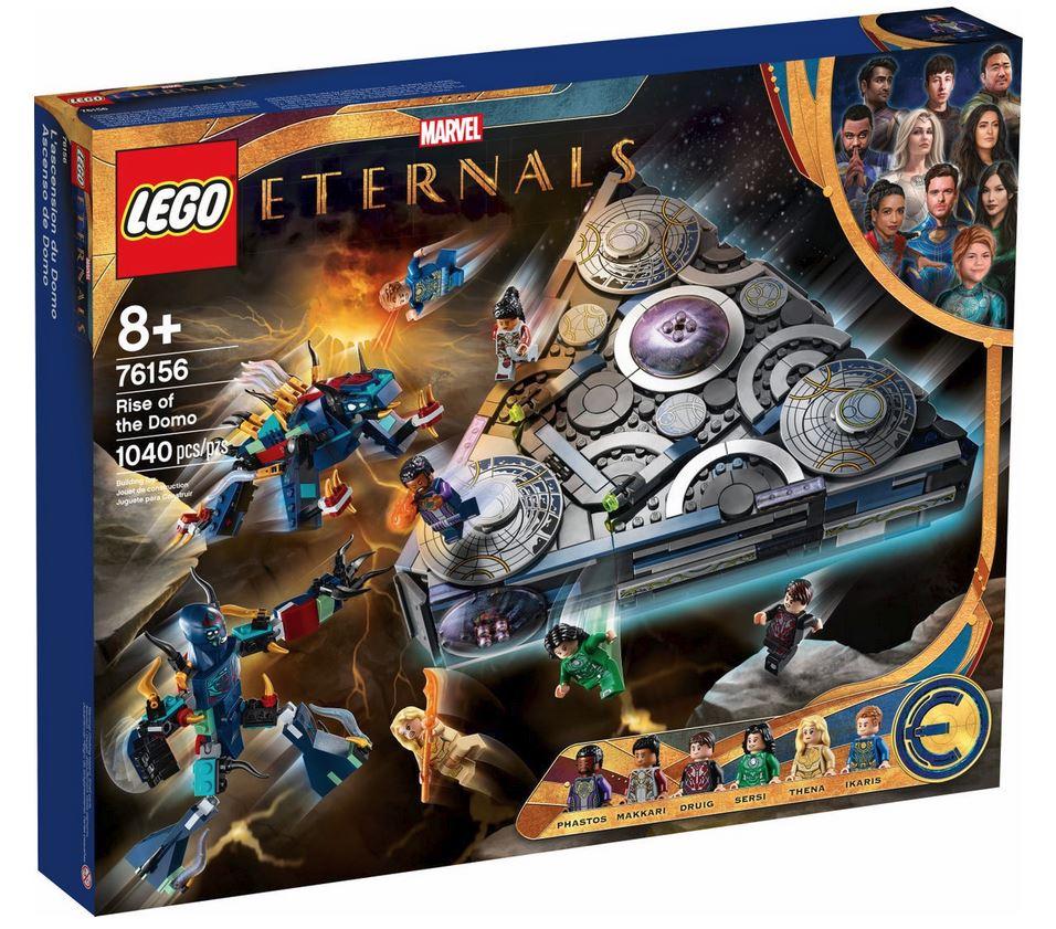 LEGO SUPER HEROES LEGO MARVEL: L'ASCESA DI DOMO 76156