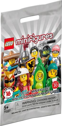 LEGO MINIFIGURINE LEGO SERIE 20 71027