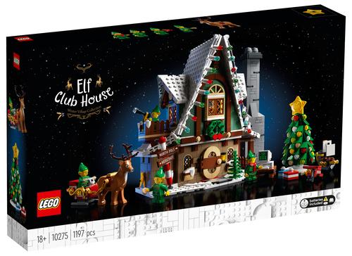 LEGO CREATOR EXPERT LA CASA DEGLI ELFI 10275