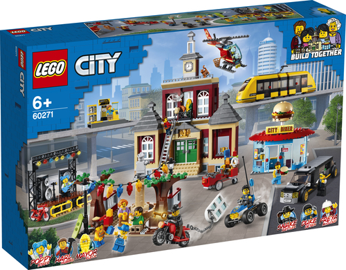 LEGO CITY PIAZZA PRINCIPALE 60271