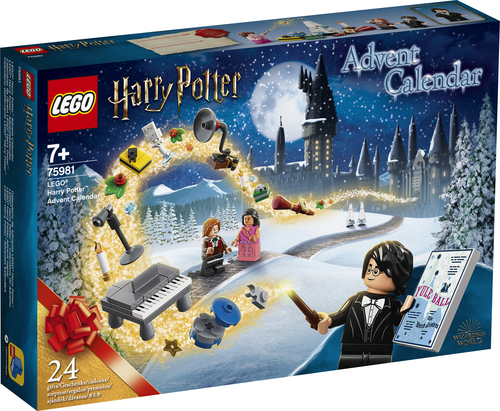 LEGO STAR WARS CALENDARIO AVVENTO HARRY POTTER 75981