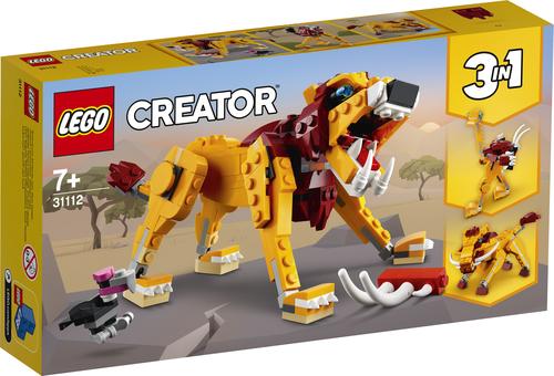 LEGO CREATOR LEONE SELVATICO 31112