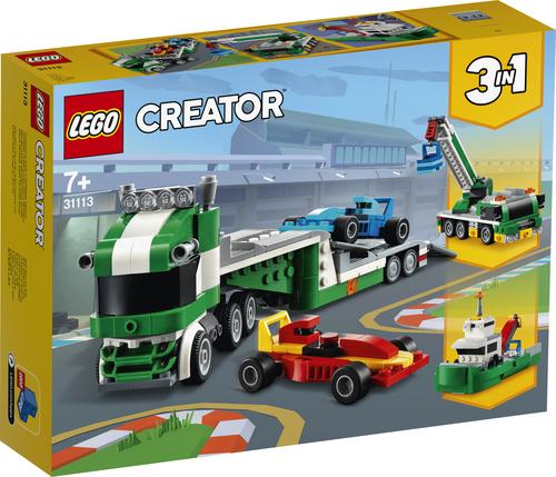 LEGO CREATOR TRASPORTATORE DI AUTO DA CORSA 31113
