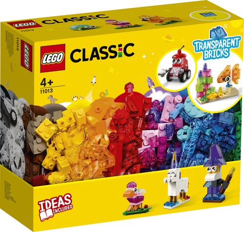 LEGO CLASSIC MATTONCINI TRASPARENTI CREATIVI 11013