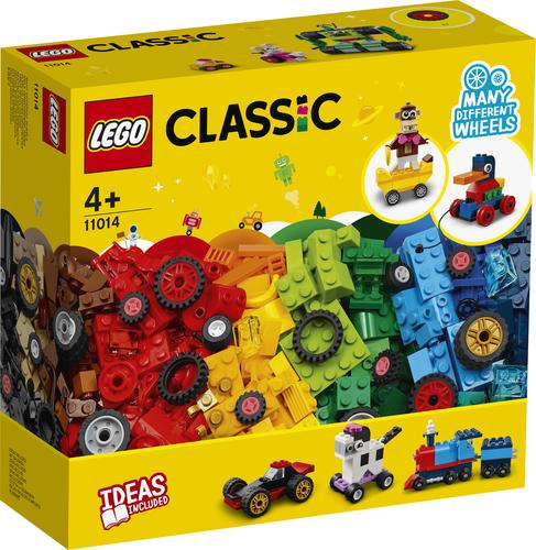 LEGO CLASSIC MATTONCINI E RUOTE 11014