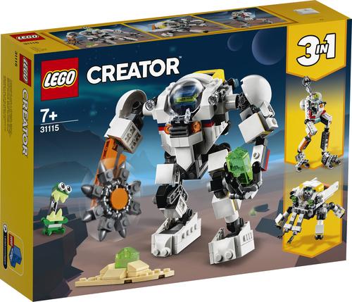 LEGO CREATOR MECH PER ESTRAZIONI SPAZIALI 31115
