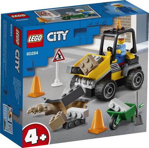 LEGO CITY RUSPA DA CANTIERE 60284