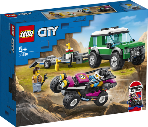 LEGO CITY TRASPORTATORE DI BUGGY DA CORSA 60288