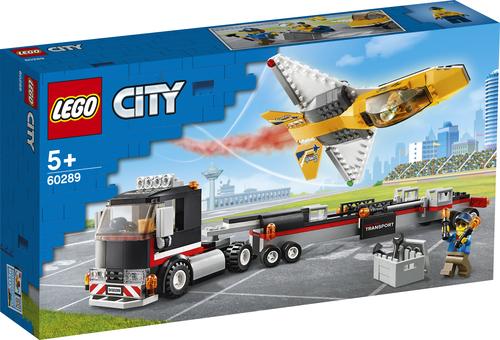 LEGO CITY TRASPORTATORE DI JET ACROBATICO 60289