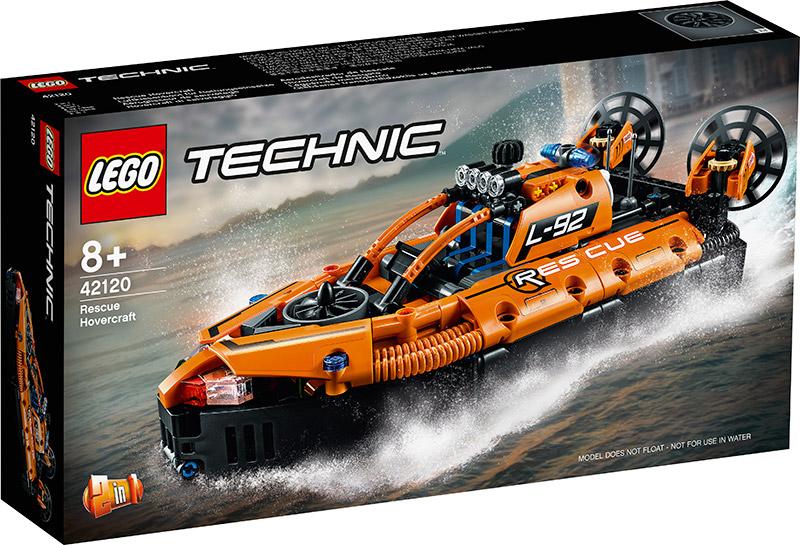 LEGO TECHNIC HOVERCRAFT DI SALVATAGGIO 42120