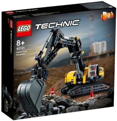 LEGO TECHNIC ESCAVATORE PESANTE 42121
