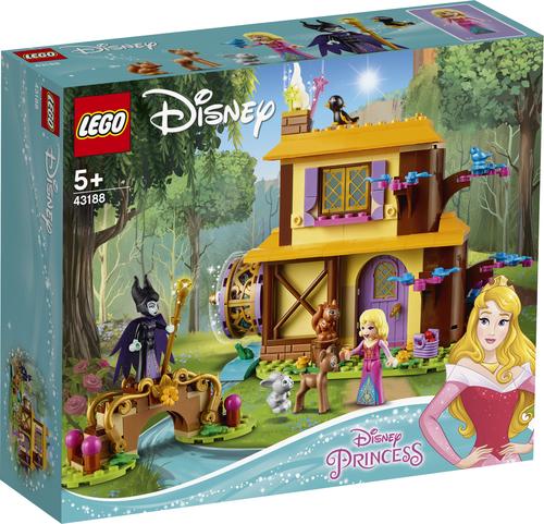 LEGO PRINCESS LA CASETTA NEL BOSCO DI AURORA 43188
