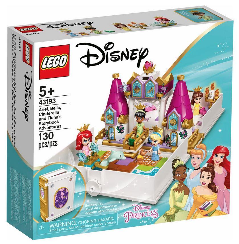 LEGO DISNEY PRINCESS L'AVVENTURA FIABESCA DI ARIEL, BELLE, CENERENTOLA E TIANA 43193