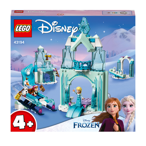 LEGO DISNEY PRINCESS IL PAESE DELLE MERAVIGLIE GHIACCIATO DI ANNA ED ELSA 43194