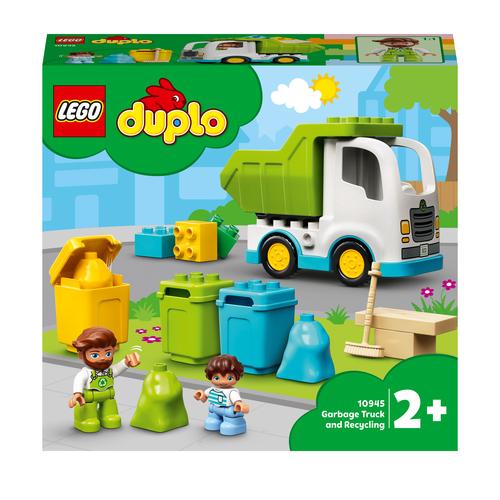 LEGO DUPLO CAMION DELLA SPAZZATURA E RICICLAGGIO 10945