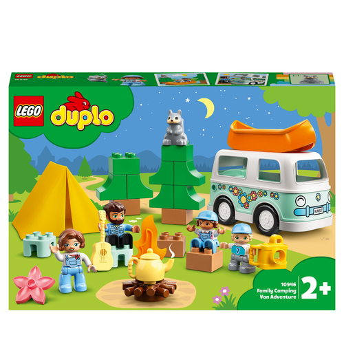 LEGO DUPLO AVVENTURA IN FAMIGLIA SUL CAMPER VAN 10946