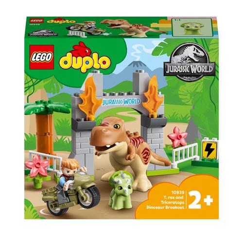 LEGO DUPLO FUGA DEL T.REX E DEL TRICERATOPO 10939