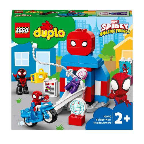 LEGO DUPLO IL QUARTIER GENERALE DI SPIDER-MAN 10940