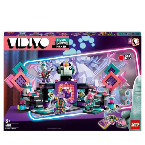 LEGO VIDIYO K.PAWP CONCERT 43113