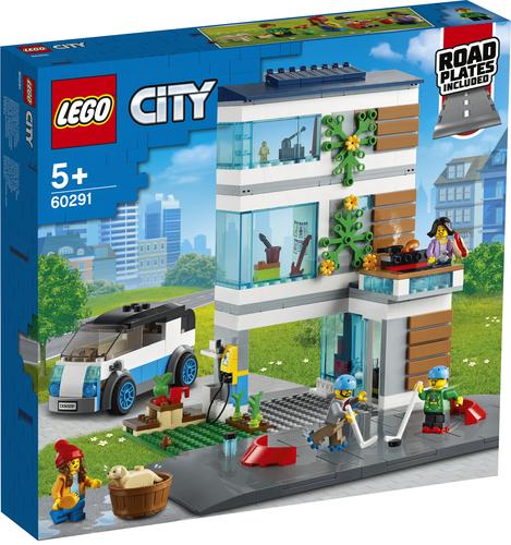 LEGO CITY VILLETTA FAMILIARE 60291