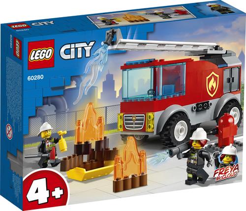 LEGO CITY AUTOPOMPA CON SCALA 60280