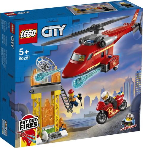 LEGO CITY ELICOTTERO ANTINCENDIO 60281