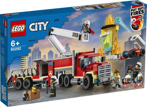 LEGO CITY UNITÀ DI COMANDO ANTINCENDIO 60282