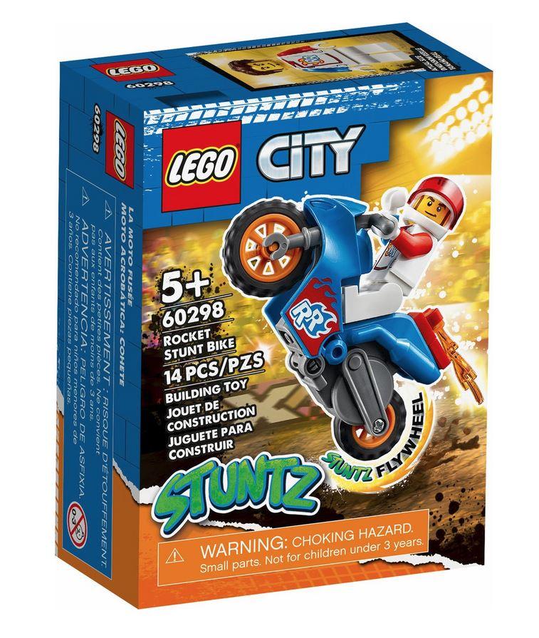 LEGO CITY STUNT BIKE RAZZO 60298